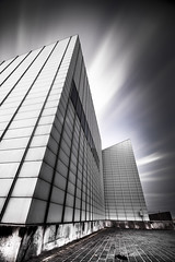 Turner contemporary  Margate (Nathan J Hammonds) Tags: margate turner contemporary nikon d750 irex mono black white long exposure nd filter lee filters 10stop building architecture lines kent uk fine art clouds movement