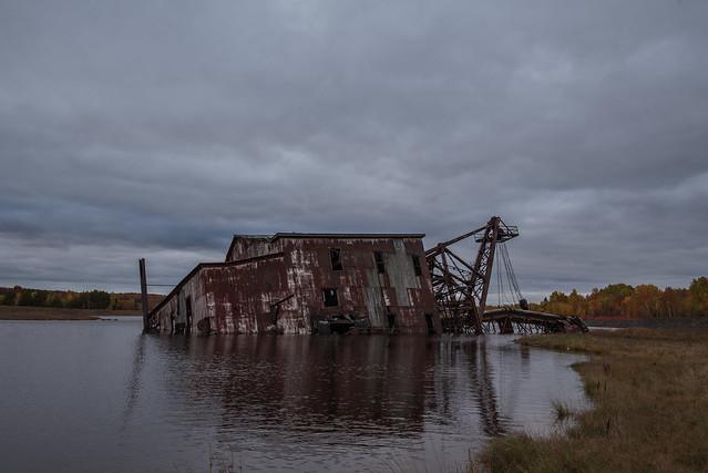 Abandoned Dredge image