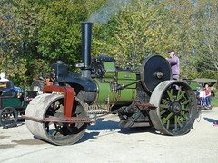 DSC04315 (stevenjeremy25) Tags: me2353 aveling porter 4765 albert steam roller traction engine burseldon brickworks museum steamup