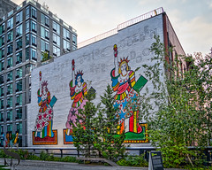 Art on The Highline I left my Lamp beside the Golden Door (Singing With Light) Tags: 2018 7th a7iii highline mirrorless nyc singingwithlight sonya7iii august morning photography signs singingwithlightphotography sony
