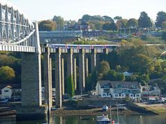 43165 Royal Albert Bridge (6) (Marky7890) Tags: gwr 43165 class43 hst 1a81 royalalbertbridge railway saltash cornwall cornishmainline train