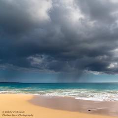 Distant Rain (BobbyFerkovich) Tags: sonya7riii sonyalpha sonyimages beach sand surf sun makenabeach hawaii maui