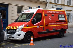 BSPP (rescue3000) Tags: renault master brigade sapeurspompiers paris bspp sapeurs pompiers sapeur sapeurpompier pompier fire 2e groupement incendie 11e compagnie 1ère caserne sévigné 2nd group 11th company 1st station véhicule secours assistance victimes vsav vehicle rescue victims gifa vsav164 164 army armée terre militaire military voiture camion firefighters french ground