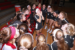 IMG_3187 (SJH Foto) Tags: canon 1018 f4556 stm superwide lens pregame huddle cheer girls high school volleyball bishop shanahan hempfield state pool play championships