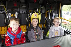 Byrnes visit to Tunbridge Wells Hospital (Kent Fire and Rescue Service) Tags: tunbridge wells woody elsa byrnes hospital partnership community safety public