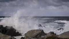 22. september 2018_6102110 (ellenmaynielsen) Tags: ferkingstad karmøy storm waves water sea