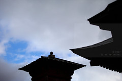 Kaizan-Nokyo-do (Elios.k) Tags: horizontal outdoors nopeople roof temple building architecture nokyodohall kasaindohall hall kazaindo sutras perspective dof depthoffield backgroundblur foregroundblur shallowdepthoffield sky blue cloudy weather clouds colour color travel travelling vacation canon 5dmkii camera photography december 2017 yamadera risshakuji shinto tendai buddhism yamagata yamagataprefecture tōhokuregion tohoku honsu asia japan