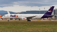 Boeing 757-236(SF) N915FD Federal Express (William Musculus) Tags: airport spotting basel mulhouse freiburg bsl mlh eap lfsb euroairport n915fd federal express boeing 757236sf fx fdx fedex 757200f 757200sf