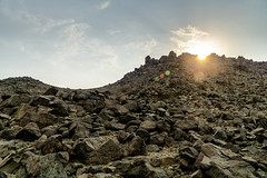 Moon valley, Saudi Arabia (Aditya Prabaswara) Tags: landscape desert rocks saudi sky sand afternoon