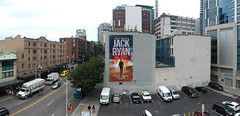 SEA_Amazon_01 (Overall Murals) Tags: seattle handpainted outdooradvertising advertising handpaint drone wallscape largescale amazon jack ryan pikeplace pike place