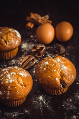 Muffins (eddy_737) Tags: dof sweet food canon muffins cake cook cooking eggs cinnamon eat eating kitchen