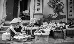 Cooking Time (Hanoi, Vietnam. Gustavo Thomas © 2018) (Gustavo Thomas) Tags: cooking cook food hanoi asia asian city people life fruit seller travel vietnam vietnamese blackandwhite bnw mono monochrome