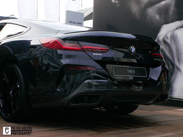 The New BMW 8-Series rear view