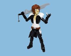 Squall (vitreolum) Tags: lego vitreolum finalfantasyviii squall character