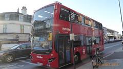 P1130589 VMH2445 LK18 AGU at Finchley Road Station Finchley Road South Hampstead London (LJ61 GXN (was LK60 HPJ)) Tags: volvob5lhybrid mcvevoseti mcv evoseti metroline 105m 10490mm vmh2445 lk18agu nb896