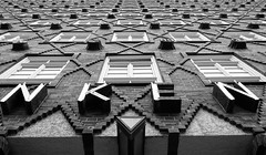 The Sprinkenhof (setoboonhong) Tags: hamburg travel thesprinkenhof building kontorhaus hanseaticarchitecture bricks patterns motifs unescoworldheritagesite bw