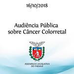 Audiência Pública sobre Câncer de Colorretal 16/10/2018
