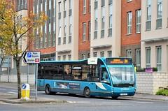 Arriva 4206 (stavioni) Tags: optare versa arriva camberley surrey single decker bus 4206 yj61clf