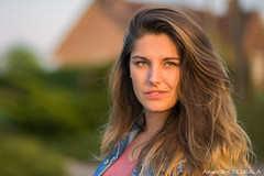 Laurine (8) (Alexandre D_) Tags: canon eos people portrait portraiture girl woman nice beautiful france jolie smile french light goldenlight naturallight outdoor sunset warm blueeyes hair hairstyle color colors colorful model hautsdefrance pasdecalais green sun sunnyday dof jeans lightroom golden hour spring beauty stunning pelouse backlight wind white lady female feminine gorgeous pretty young 5d 5dclassic 5dmarki 85mm 85mmf18 ef85mmf18usm headshot face bokeh bokehlicious