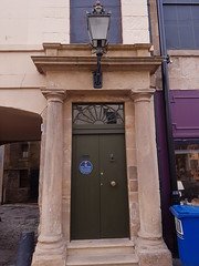 St Catherine St, part of (171) (Daniel Muirhead) Tags: scotland cupar st catherine street burgh chambers doorway