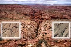 1st Crack from The Skywalk (Chief Bwana) Tags: az arizona pariaplateau vermilioncliffs pariariver pariacanyon 1stcrack fault skywalk viewpoint overlook psa104 chiefbwana 500views