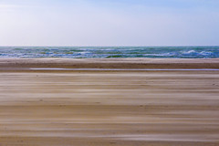 Stripes (maxgerisch) Tags: stripes sea ocean water sky blue sand beach denmark wind eos 600d canon