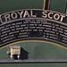 Royal Scot 46100 nameplate