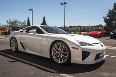We Meet Again (Hunter J. G. Frim Photography) Tags: supercar colorado denver lexus lfa v10 white japanese coupe carbon rare limited wing lexuslfa