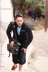 Walking around Karsha monastery (image: S Jigmet)