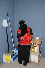 DSC_3493 (Warm Clothes Fetish) Tags: slave maid hot warm sweat torture boots coat fleece fur anorak apron rainwear winter