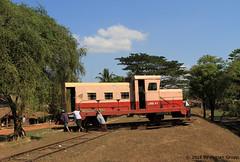 I_B_IMG_0491 (florian_grupp) Tags: asia myanmar burma train railway railroad bago pegu nyaungkashe semaphore diesel railcar railwaggon car selfmade myanmarailways southeast metergauge metregauge 1000mm locomotive