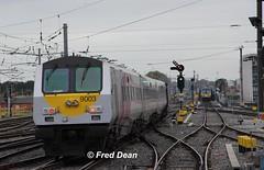 N.I.R. 9003 in Dublin Connolly. (Fred Dean Jnr) Tags: dublin september2018 northernirelandrailways enterprise 9003 connollystationdublin iarnrodeireann irishrail
