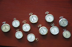 My Pocket Watch collection (nickant44) Tags: pocket watch antique retro vintage dial mechanical
