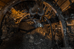 Devil Mine 04 (Travelers Of The Past) Tags: coal mine charbon charbonnage devil hell catacombe urbex urban exploration urbaine friche decay lost place forbidden places abandoned abandonné forget forgotten exploring explorer explore explo