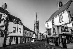 Street photography in Louth (Andy barclay) Tags: street people black white monochrome selective colour pop contrast sunny sun shadows light lightroom louth lincolnshire market town instagram