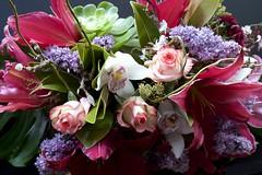 Happy Birthday JI! (daniel_james) Tags: 2018 canon6d canon1635mm hobart tasmania australia flowers boquet