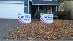 20181020_163959 (pbriggsiam) Tags: civicengagement sherwoodor oregon activism our revolutionindivisiblewashington countyblue waveresistancepoliticalparticipation courtneyneron sarahgrider postcards democraticparty democracy housedistrict26 senatedistrict13 hd26 sd13