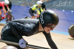 Laura Kelly at National Omnium Championships (Paul_Wheeler) Tags: omnium championshops uk cycling derby velodrome arena track laura kelly