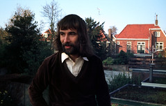 Tilburg, ik met baard, 1979 (wally nelemans) Tags: tilburg ik me wally baard beard nederland holland 1979