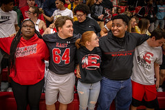 Pep Rally (Phil Roeder) Tags: desmoines iowa desmoinespublicschools easthighschool peprally rally education students canon6d