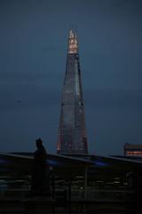 La città all'imbrunire (falco di luna) Tags: londra london