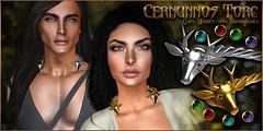 VENGE - Unisex - Cernunnos Torc (Vixn Dagger - Vengeful Threads / VENGE) Tags: menshipsterevent mens unisex accessory pagan occult accessories venge vengefulthreads hipstermensevent
