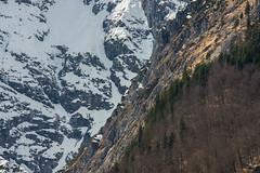 Königsee - Berchtesgaden (Brieuc.Baillot) Tags: germany bayern bavaria koenigsegg 2018 mars april alps mountains alpen alpes closeup zoom nature trees rocks snow winter spring nikon d600 sigma 70200mm sigma70200apodghsm