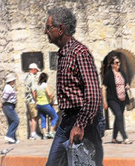 guys at the Alamo (miosoleegrant2) Tags: guy man older texas tx mission history vacation tourist outside building architecture alamo sanantonio male butch gentleman men guys dude studly manly dudes handsome stud condid hunk sexy masculine people chaetophorous unshaven beardy barbate silver daddy silverdaddies seniors maturemale over50 maturemen matureman siverdaddy grandad granddad grandaddy granddaddy silverfox saltpepper olderman fit old hombre maduro guapo