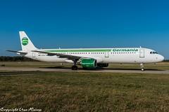 Germania D-ASTM (U. Heinze) Tags: aircraft airlines airways airplane airbus flugzeug haj hannoverlangenhagenairporthaj eddv planespotting plane nikon
