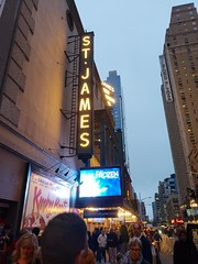 Frozen On Broadway (Joe Shlabotnik) Tags: nyc 2018 marquee theater frozen newyorkcity galaxys9 cameraphone manhattan broadway april2018