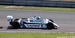 Williams FW07C 1981 (XBXG) Tags: williams fw07c 1981 williamsfw07c fw07 nick padmore ford cosworth dfv v8 f1 formula one formulaone sports car racing historic grand prix 2018 circuit park zandvoort cpz race track motorsport nederland holland netherlands paysbas vintage old classic british auto automobile voiture ancienne anglaise brits uk vehicle outdoor