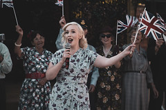 Marina Mae (Smarkmith) Tags: 1940s reenactment rufford abbey country park homefront weekend world war 2 ii time canon 6d 24105 24mm105mm singing singer marina mae wartime britain vintage history reenactor reenactors