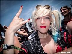 HELLFEST 2018 (kikevist thierry) Tags: kikevisthellfest2018 festival music musique heavymetal hardrock rock ambiance portrait happy livestyle makup face happyface