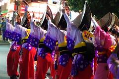 Awaodori (runslikethewind83) Tags: japan pentax tokyo awaodori dance dancers asia ladies festival matsuri